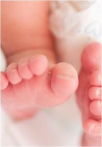 赤ちゃんの胎動