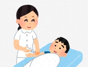 予防接種の副反応と当日の流れについて